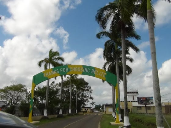 welcome belize